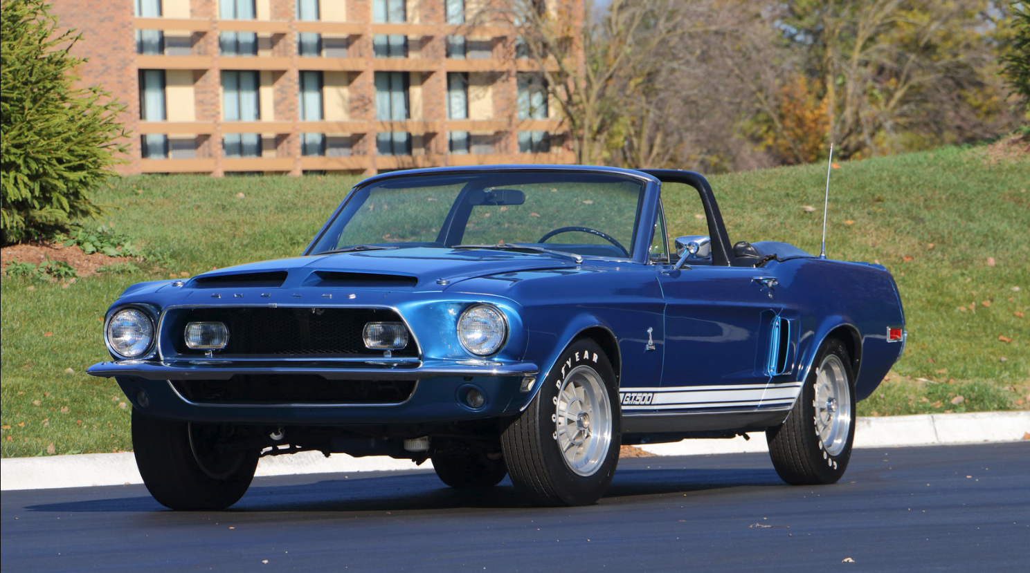 1968 Mustang Shelby GT500 Convertible