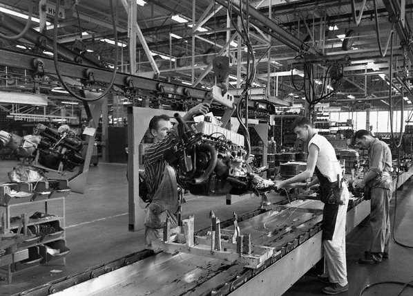 1969 Mustang Assembly Line