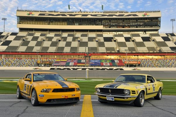 Old Meets New at Daytona
